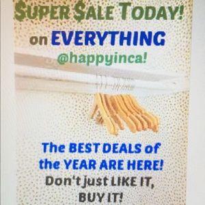 SHOP OUR SUPER SALE TODAY!